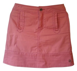 Anthropologie Hei Hei Blend Casual Melon Orange Mini Skirt
