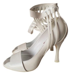 Missoni Prom Formal Italy Pumps White Sandals