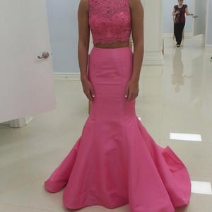 Sherri Hill Pink Dress
