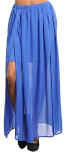 Other Maxi Skirt blue