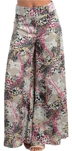 Wide Leg Pants gray/pink