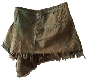 Diesel Mini Skirt Green