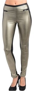 Other Skinny Pants silver/black