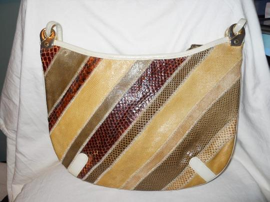 Other Snake Skin Vintage Lizard Shoulder Bag