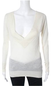 Enza Costa Cashmere Intermix Cashmere Sweater