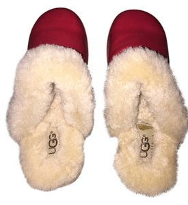 UGG Australia Red Mules