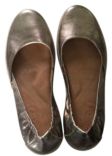 Nordstrom Silver Flats Image 0