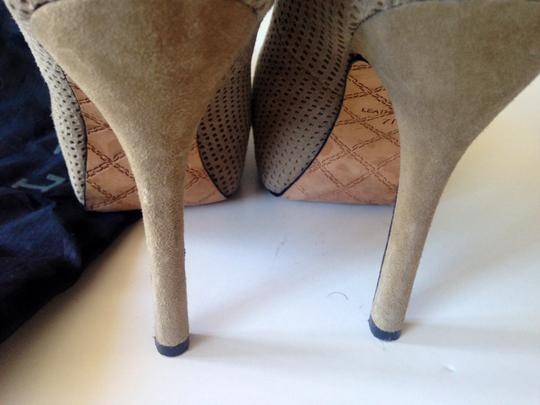 Lamb nude Pumps