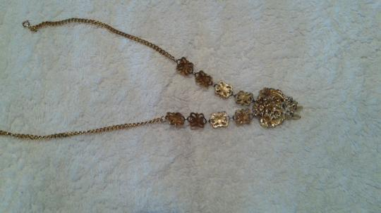 Other Vintage faux pearl/gold heart necklace Image 4