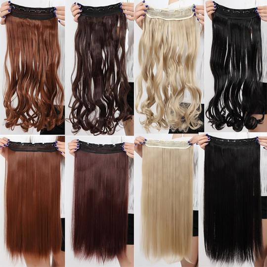 Bogo Free Synthetic Full Head Extension Free Shipping