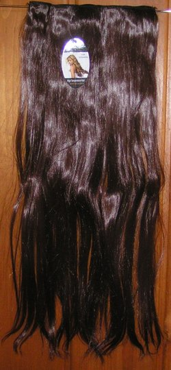 Brown Bogo Free Synthetic Full Head Extension Free Shipping Hair Accessory