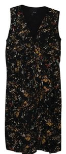 Greylin short dress Black with multicolor print on Tradesy