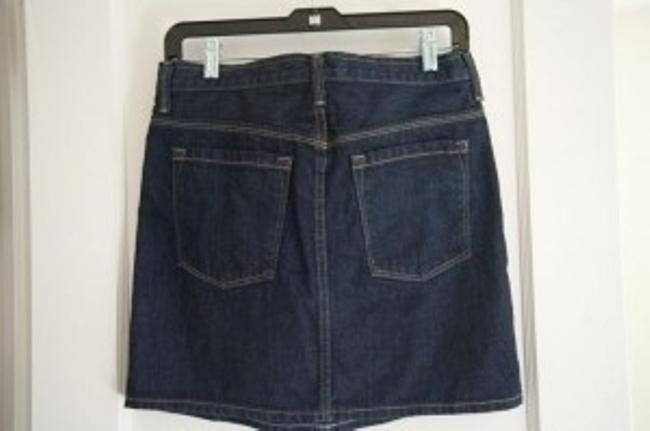 J.Crew Mini Skirt Blue Denim