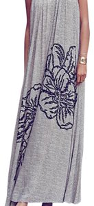 Maxi Dress by Anthropologie Maxi Beaded Neck Ranna Gill