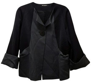 Marimekko Ritva Falla Black and Gray Blazer