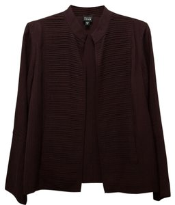 Eileen Fisher Silk Jacket Purple Blazer