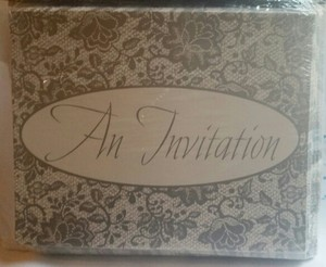50 Bridal Lace Invitations
