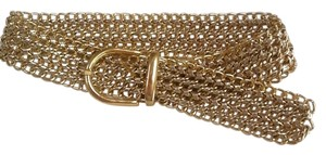 Gold , braided , 36 inches long belt.