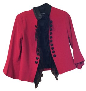 insight Red with Black trim Blazer