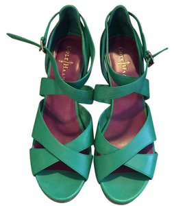 Cole Haan Green/teal Wedges