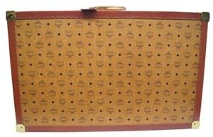 MCM Vintage Monogram Trunk Suitcase Suitcase Rare cognac Travel Bag