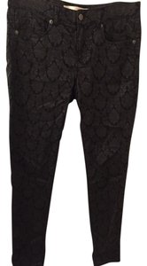 Joe Fresh Jeggings Black Tight Straight Pants