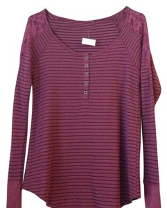Chloe K Button Down Shirt Mauve