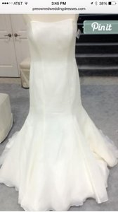 Priscilla of Boston Ivory Lois Traditional Wedding Dress Size 10 (M)