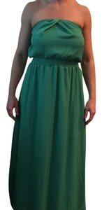 Seafoam green Maxi Dress by DKNY