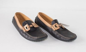 Tod's Loafers Moccasins Black Flats