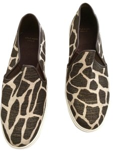 Cole Haan Brown/Beige animal print. Flats