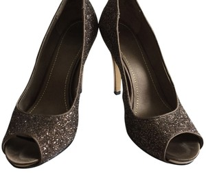 Nine West Gold/glitter Platforms