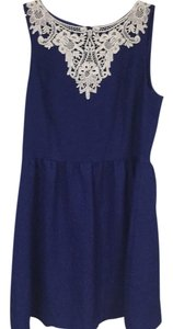 Kensie short dress Blue, White on Tradesy