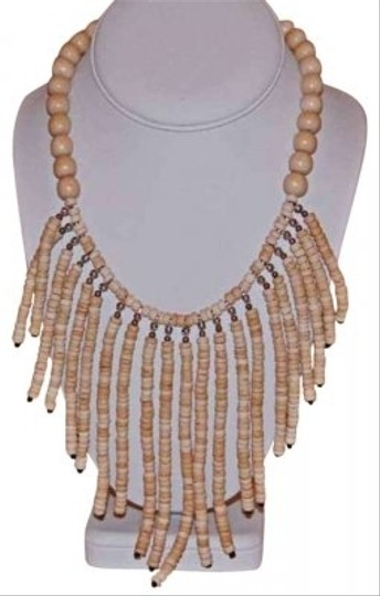 Preload https://img-static.tradesy.com/item/134422/nude-light-woodlimba-limba-african-color-wood-bead-necklace-0-0-540-540.jpg
