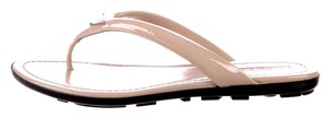 Prada Leather Sandals Nude Pumps