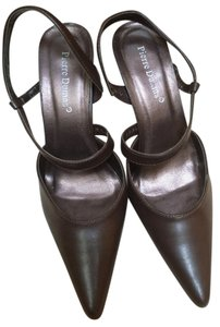 Pierre Dumas Brown Pumps