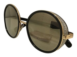 Jimmy Choo Jimmy Choo 'Andies' 54MM Black Round Sunglasses