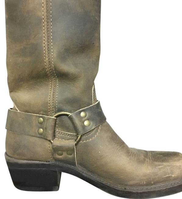 Item - Brown Boots/Booties Size US 6.5 Wide (C, D)