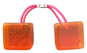 Louis Vuitton Louis Vuitton Limited Edition Lucite Hair Cubes