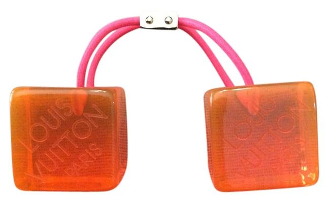 Item - Orange Limited Edition Lucite Cubes Hair Accessory