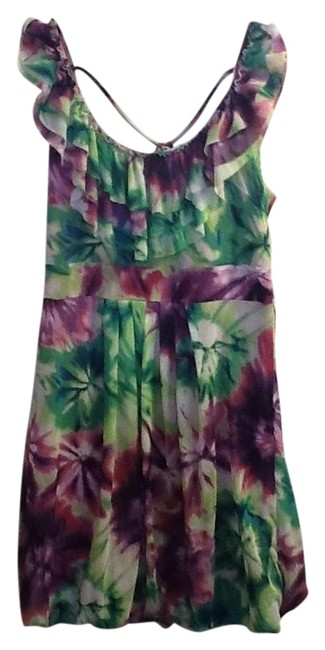 Preload https://item4.tradesy.com/images/greenmuli-colored-floral-sleeveless-above-knee-short-casual-dress-size-12-l-1344343-0-0.jpg?width=400&height=650