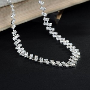 Bogo Free Rhinestone Wedding Necklace Er Set Free Shipping