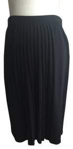 St. John Knit Skirt Black