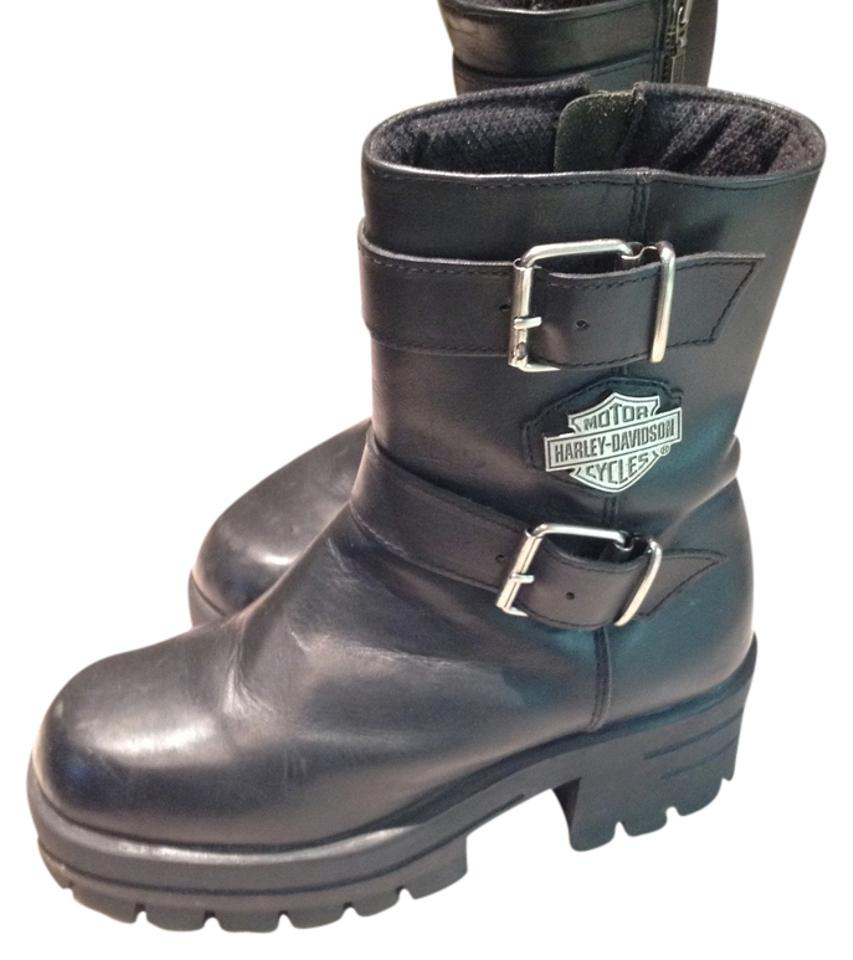 Women's Harley Casual Davidson Black Casual Harley Boots/Booties Reliable reputation aa1de0