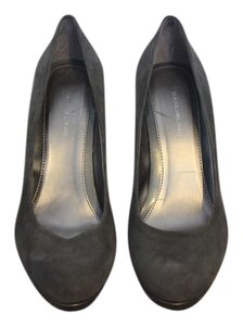 Bandolino Suede Pump Gray Pumps
