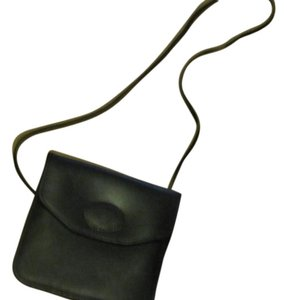 Michael Green Leather Cross Body Bag