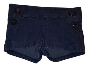 Hybrid Apparel Cuffed Shorts Dark blue