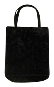 Susan Gail Velvet Formal Black Clutch