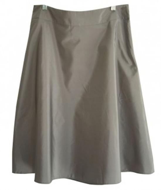 Item - Silver Gray Dressy with Sheen Skirt Size 6 (S, 28)