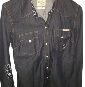 Lucky Brand Button Down Shirt Dark blue